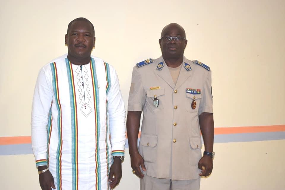 La CNDH chez le Chef d'Etat-Major Général de l'armée