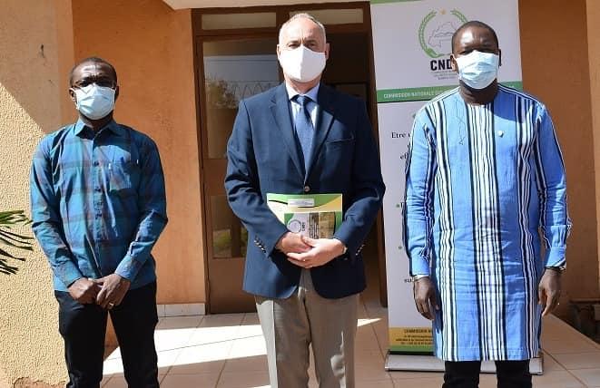 Burkina : Le nouvel ambassadeur de la Belgique rend visite à la CNDH