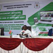 Cérémonie de lancement officiel du site web et du numéro vert de la CNDH