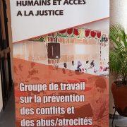 Création des cadres de concertation sur la prévention des conflits, abus et atrocités et de services aux victimes.