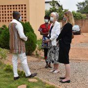 Visite de travail de son S.E.M l'Ambassadeur des USA à la CNDH