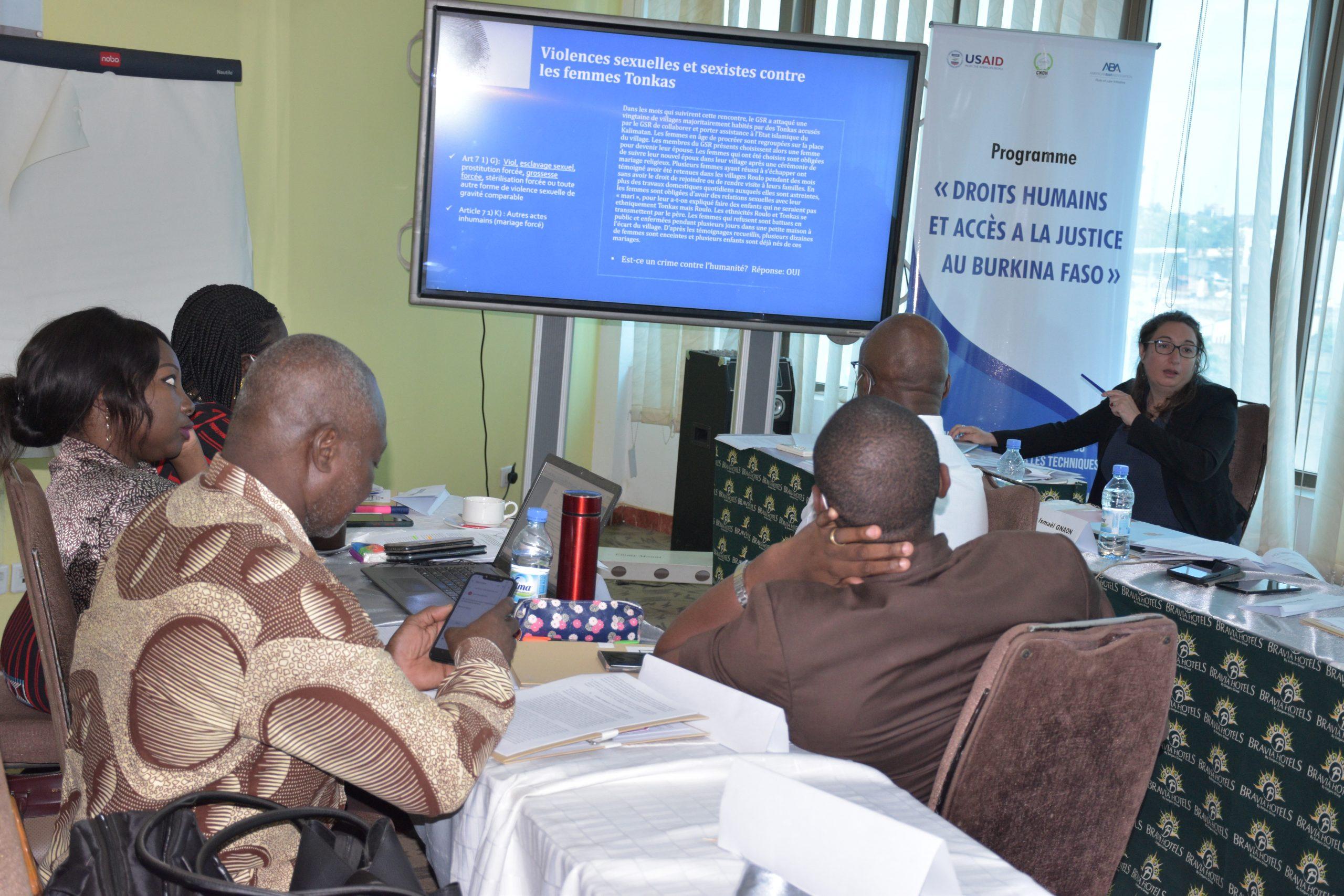 Renforcement de capacités : Les membres de la CNDH formés aux techniques d'investigation