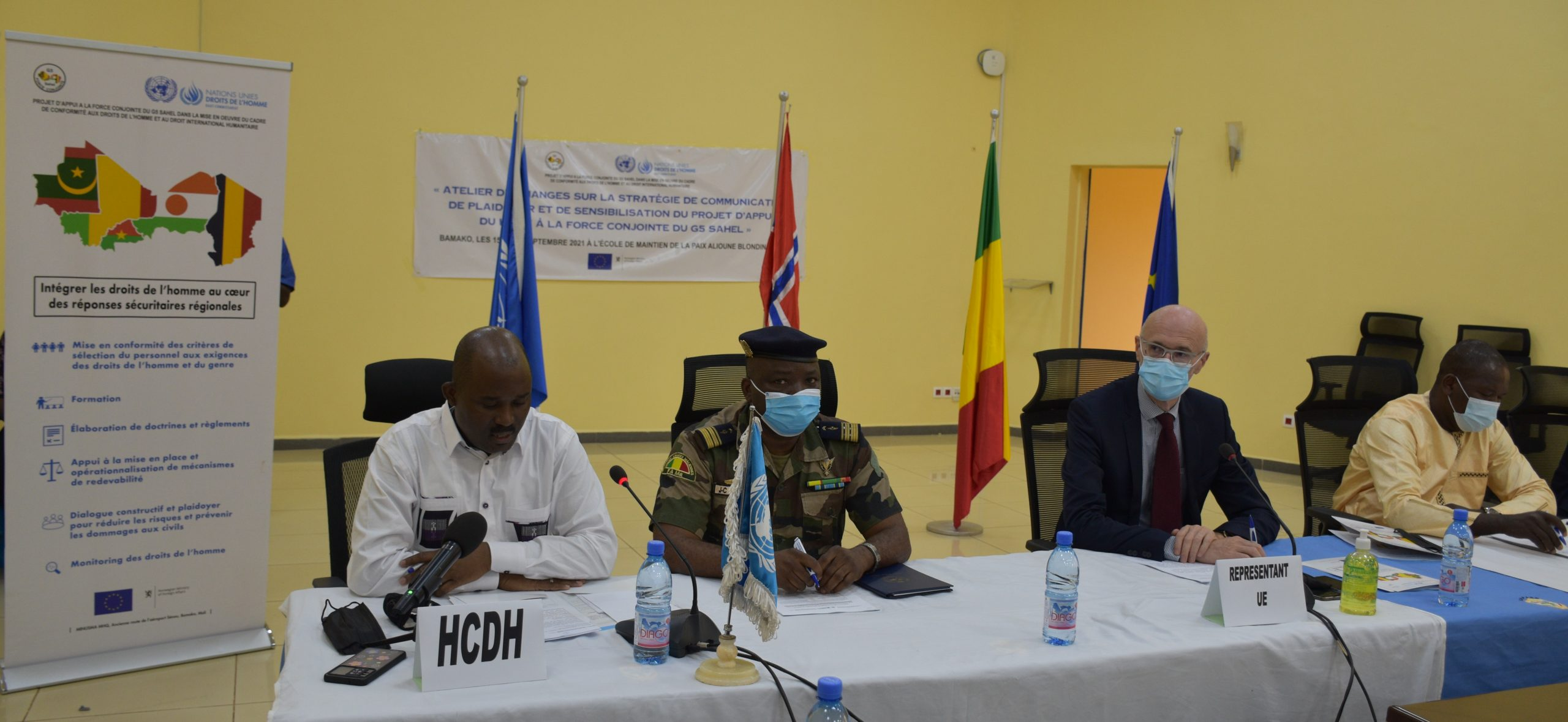 La force G5 Sahel : Le HCDH veut une conduite des opérations militaires en conformité avec les droits de l'homme